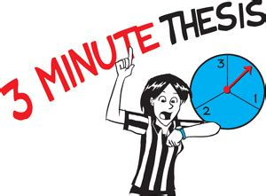 Three minute thesis poster